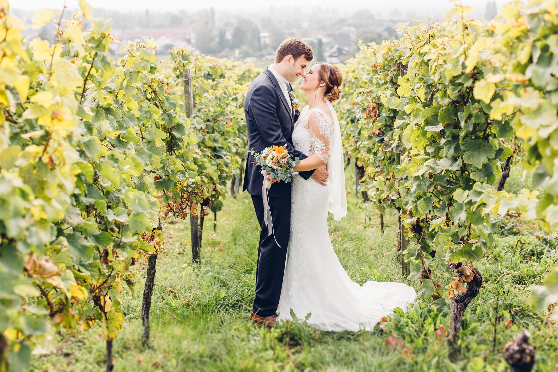 Weinberg Hochzeit