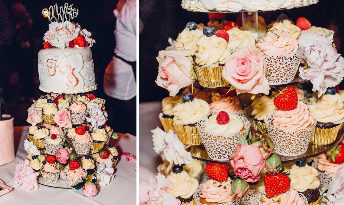 Hochzeitstorte Cupcakes