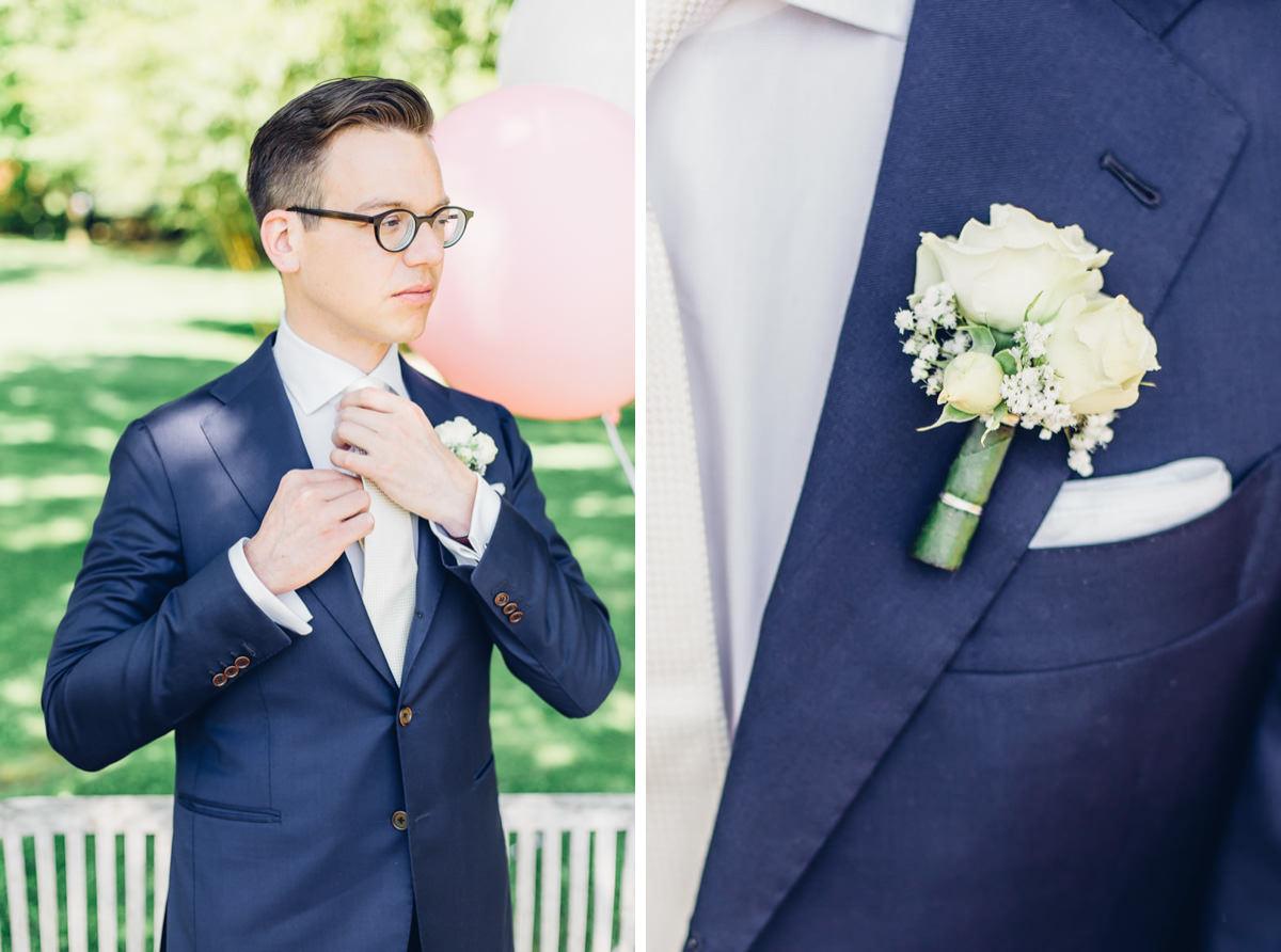 Sonniger Hochzeitstag