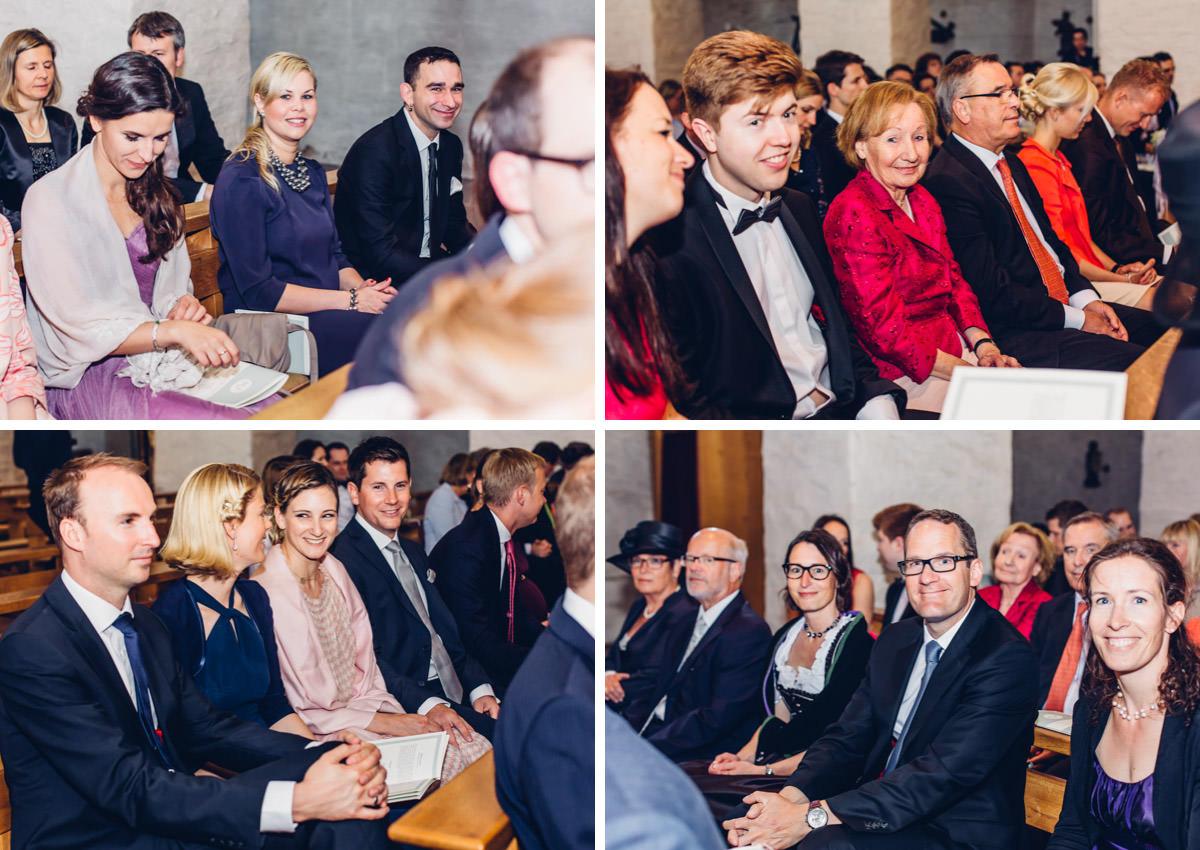 Hochzeitsgäste Fotos