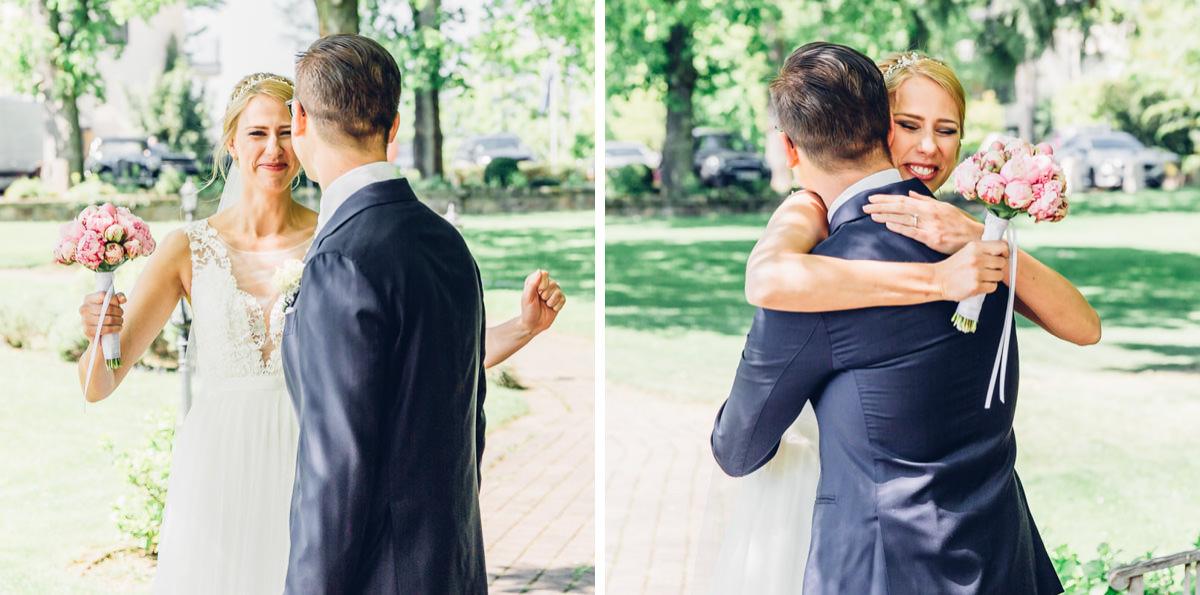 First Look Hochzeitsreportage