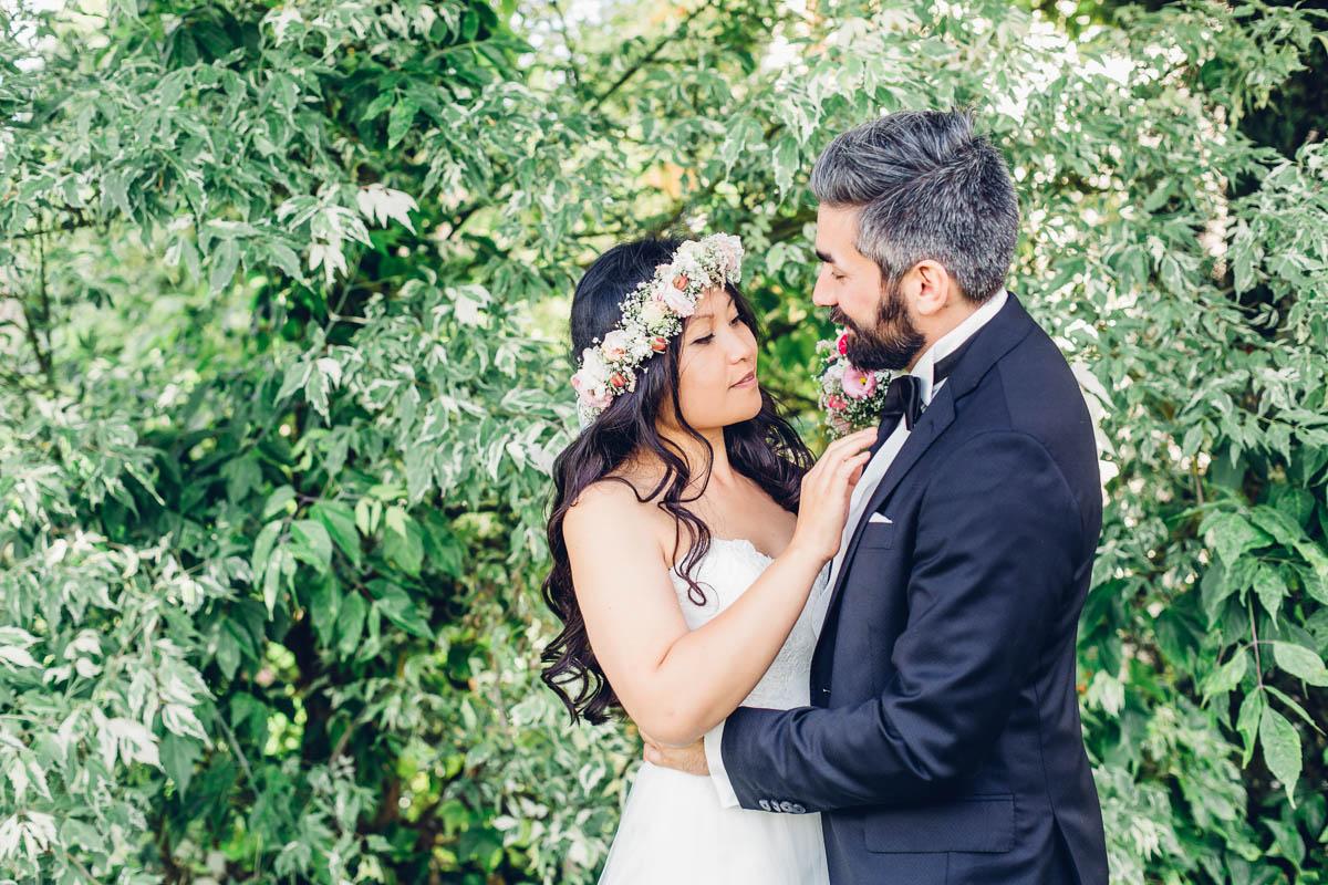 Multikulti Hochzeit