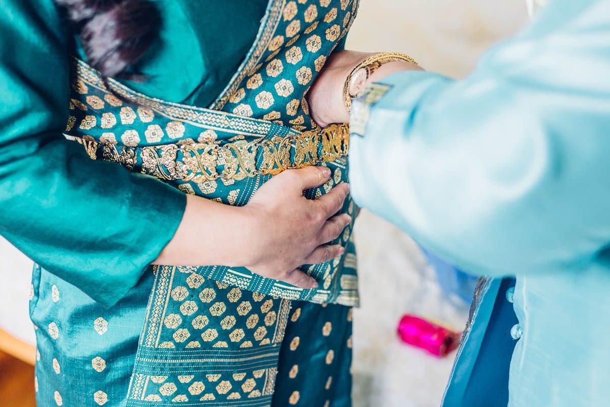 laotische Hochzeit