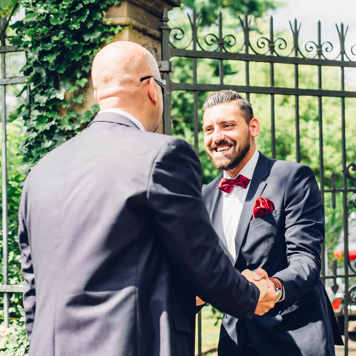 Empfang Gäste Hochzeit