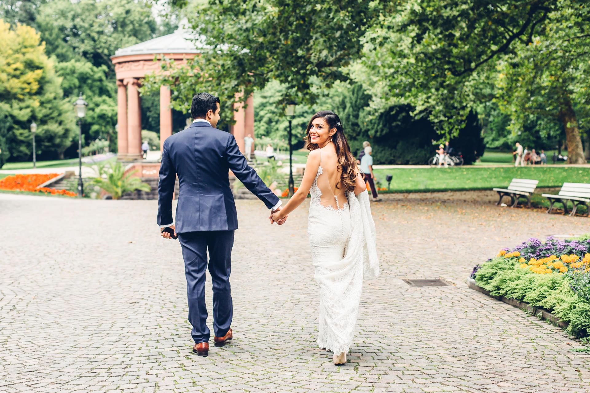 Kurpark Bad Homburg Hochzeit