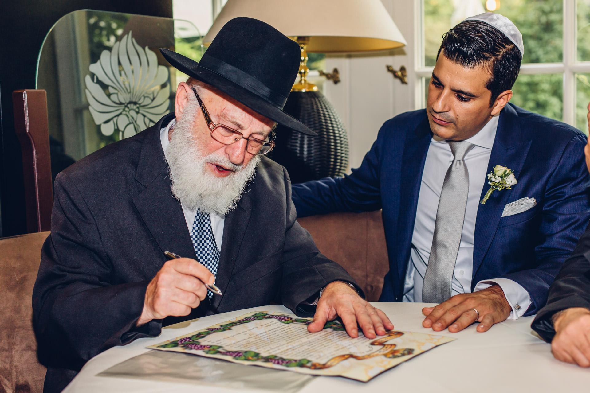 Rabbiner Frankfurt Hochzeit
