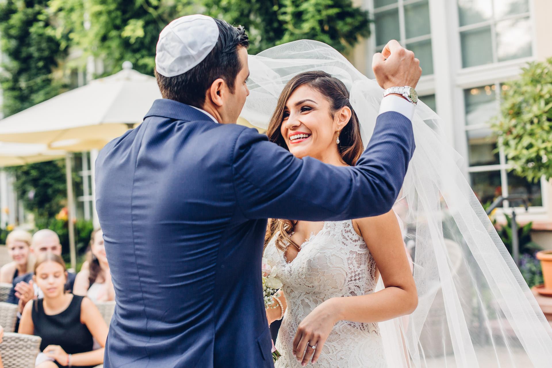 Fotograf Jüdische Hochzeit