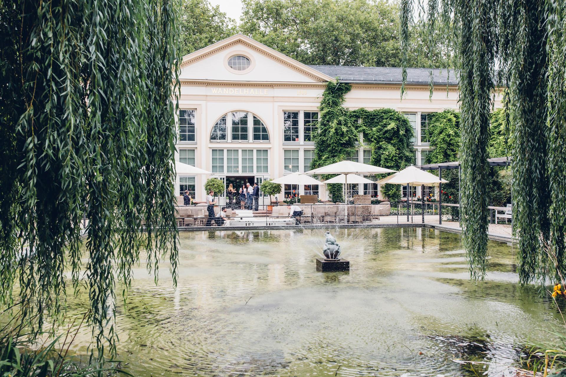 Orangerie Bad Homburg Kurpark