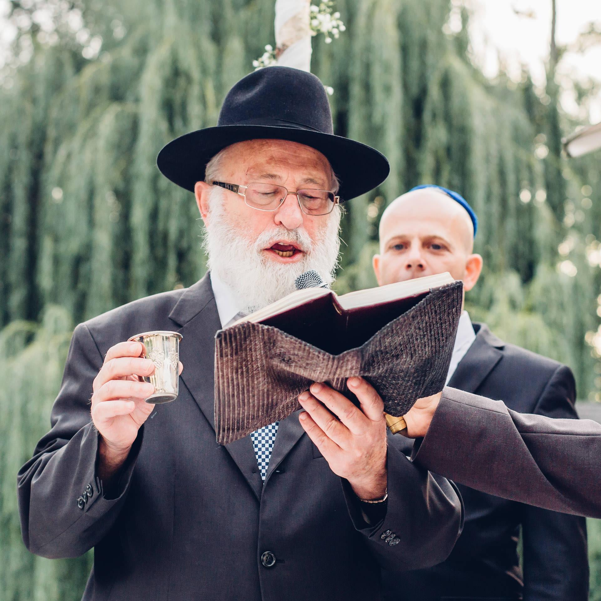 Rabbiner Hochzeit