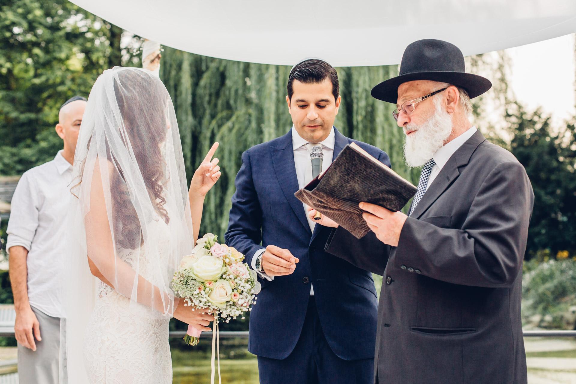 Jüdische Hochzeit Chuppa