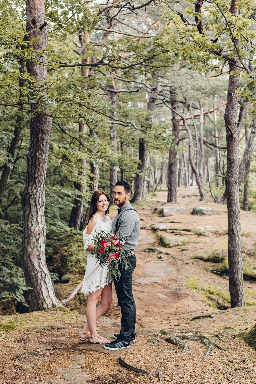 Heiraten im Pfälzer Wald