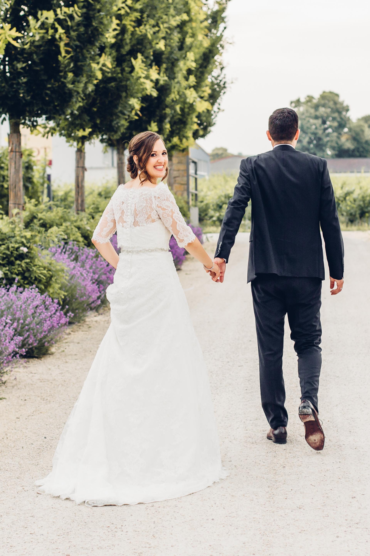Hochzeit feiern in Weinbergen in Kallstadt