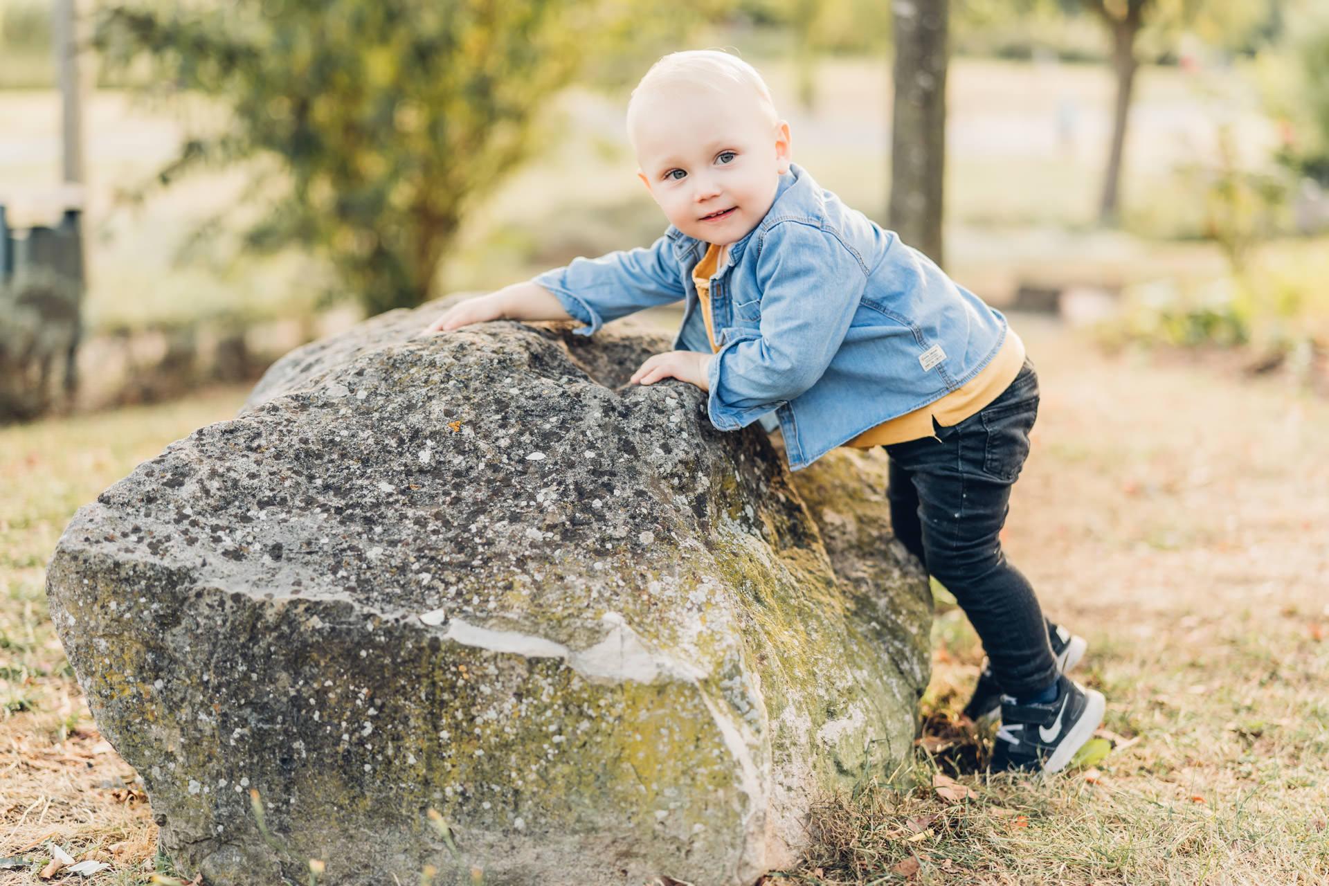 Kinderfotos im Strecktal Park in Pirmasens