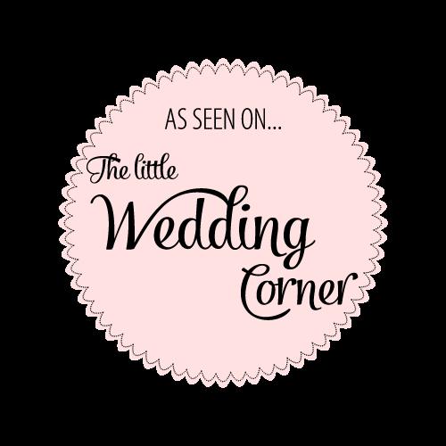 meine arbeit wurde in the little wedding corner ausgezeichnet.