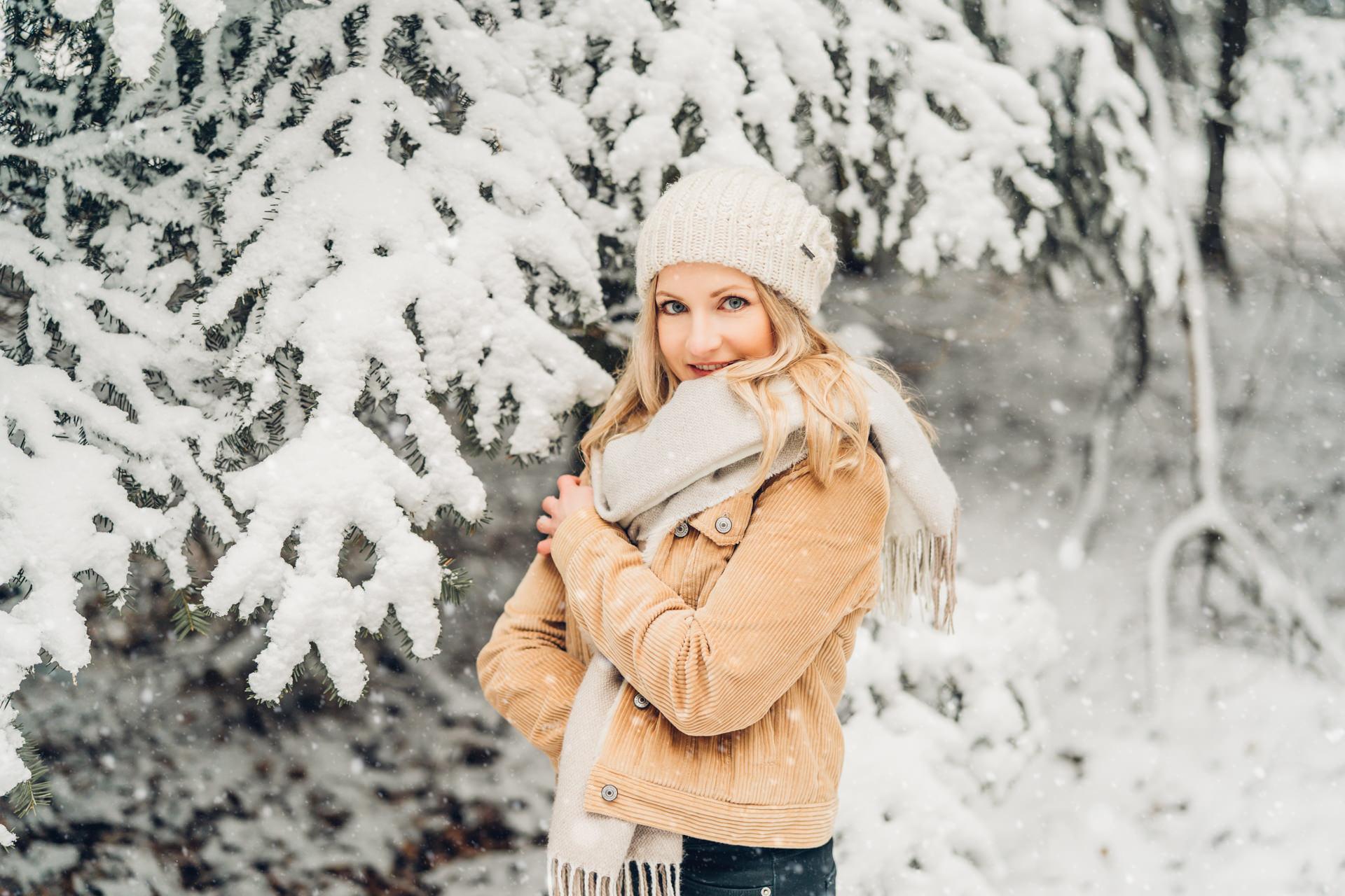 Portraits im Schnee