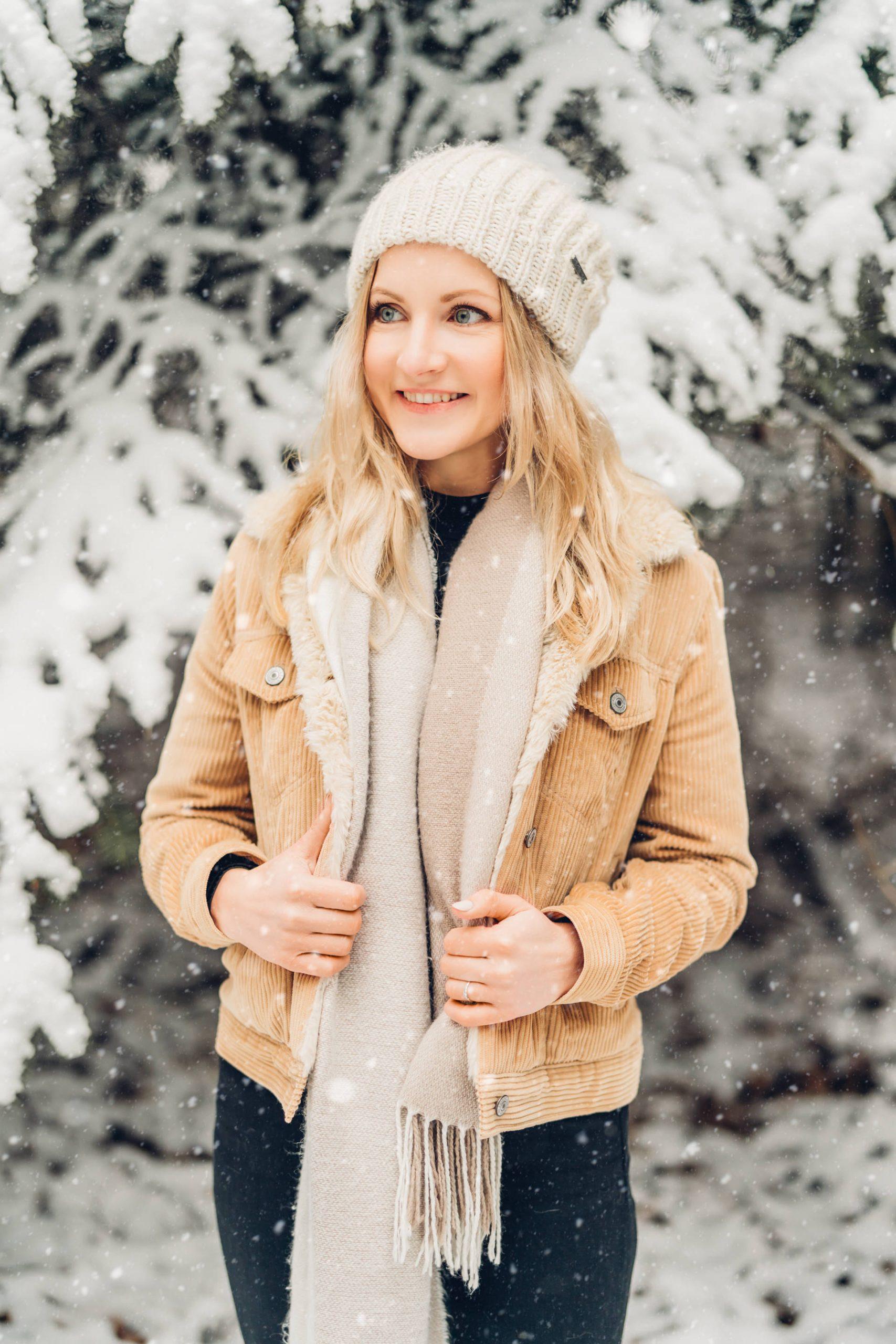 Wintershooting im Schnee