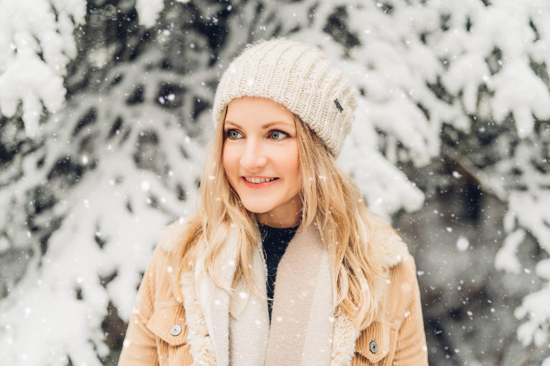 Wintershooting Portraits im Schnee