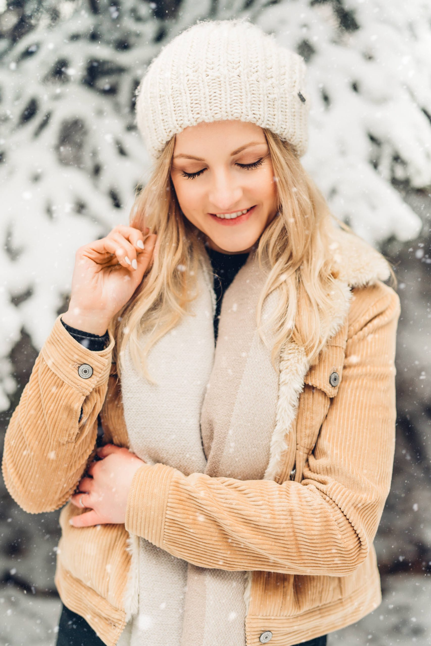 Winter Portraits im Schnee