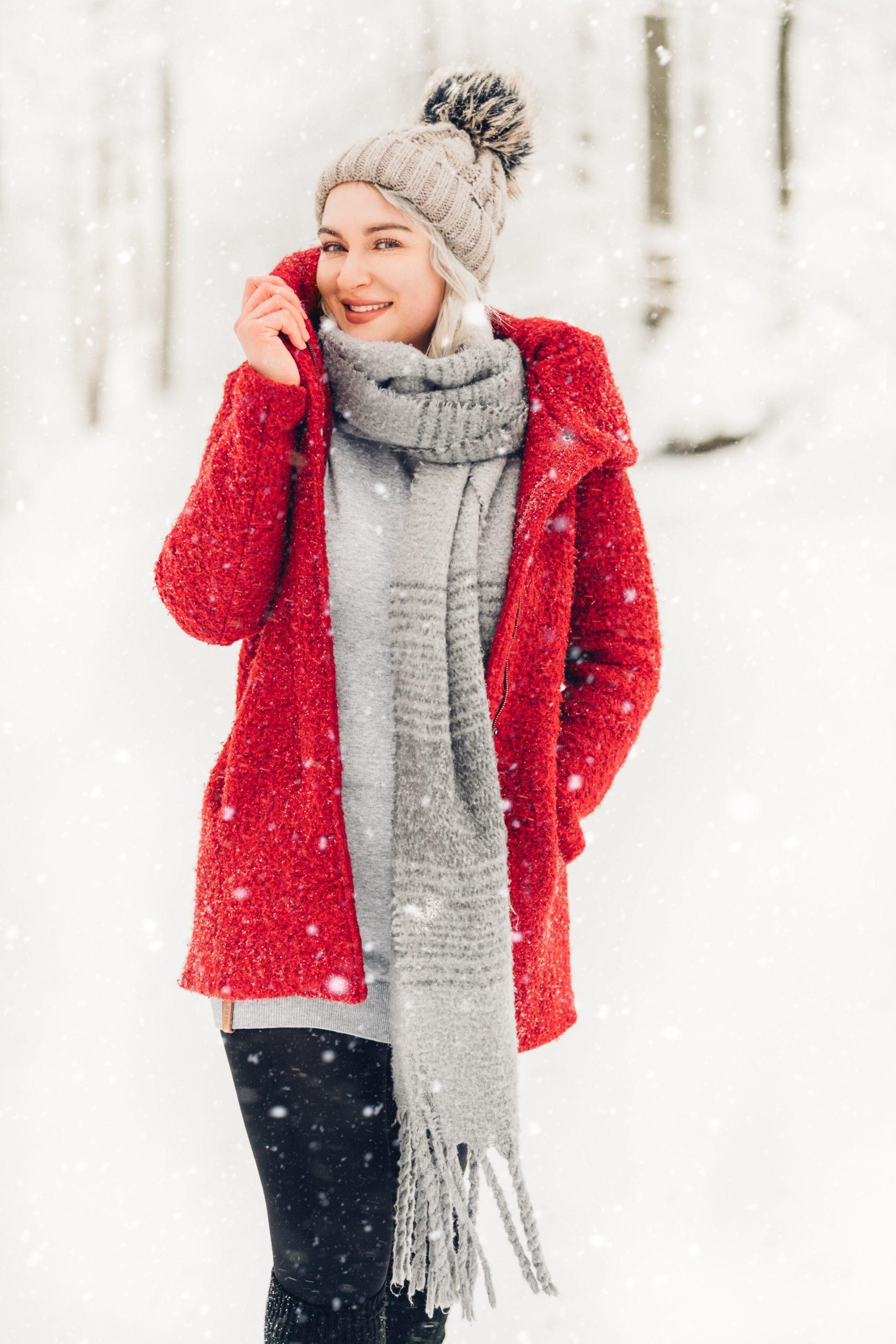 Winterportraits im Schnee