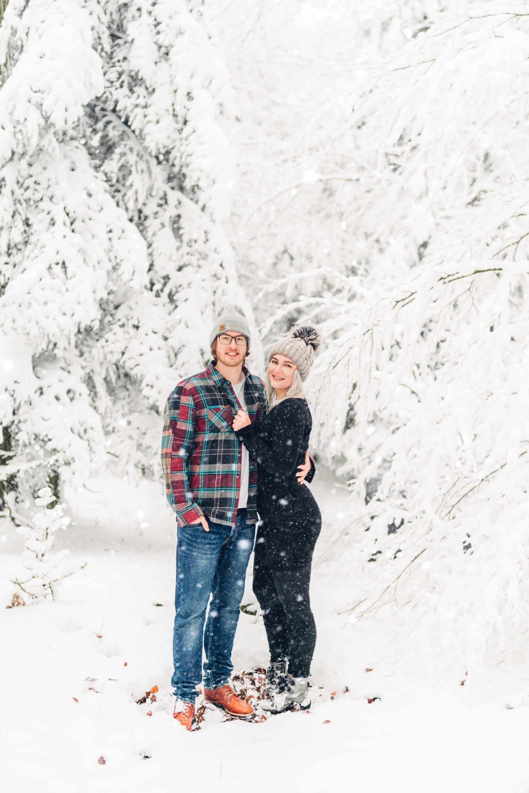Verliebt im Schnee