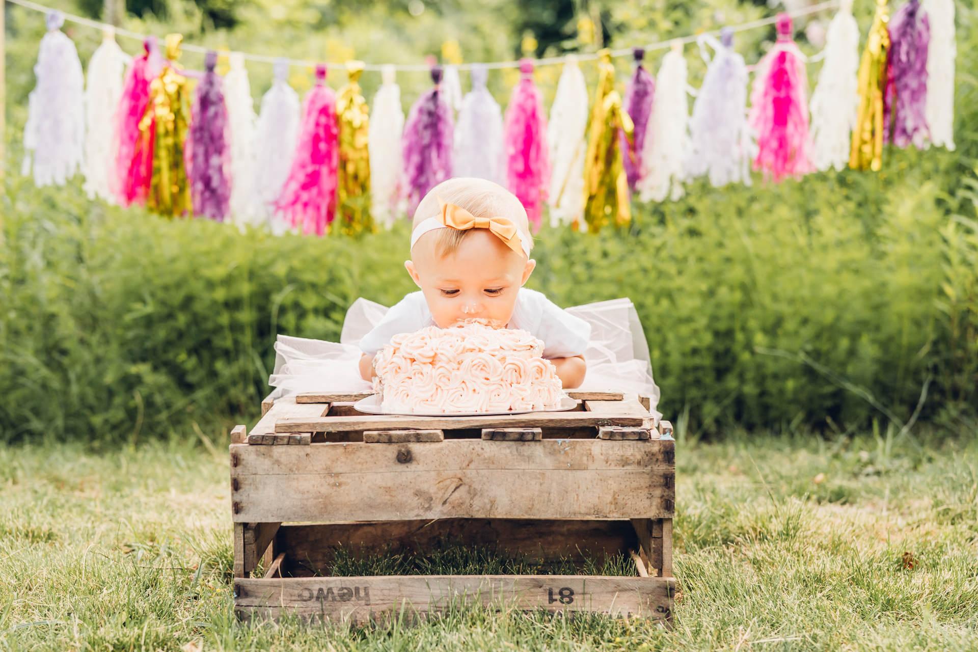 Cake Smash Fotoshooting Fotograf Kaiserslautern