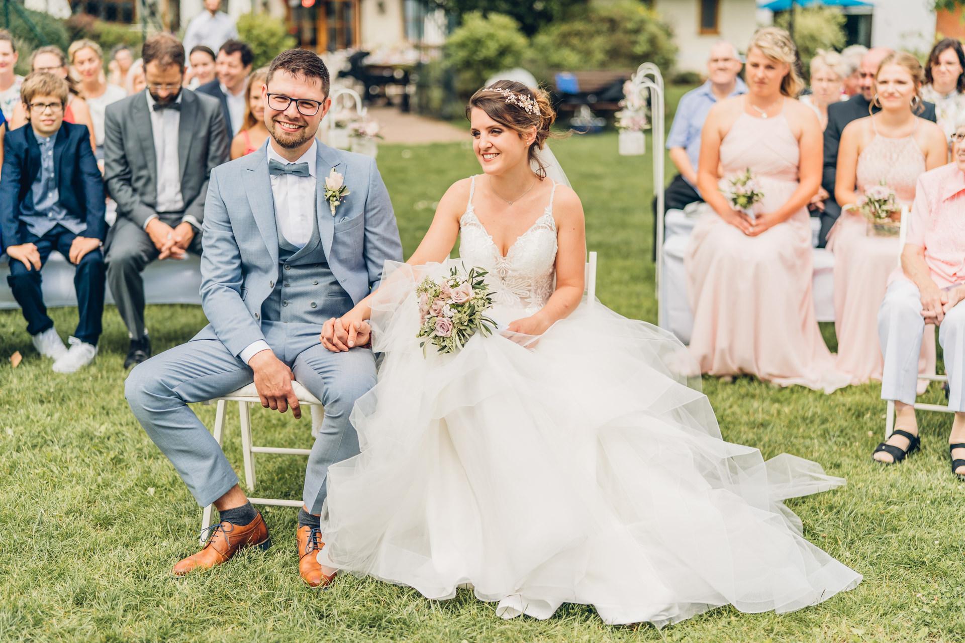 Hochzeit feiern auf dem schönen Weingut Höflich