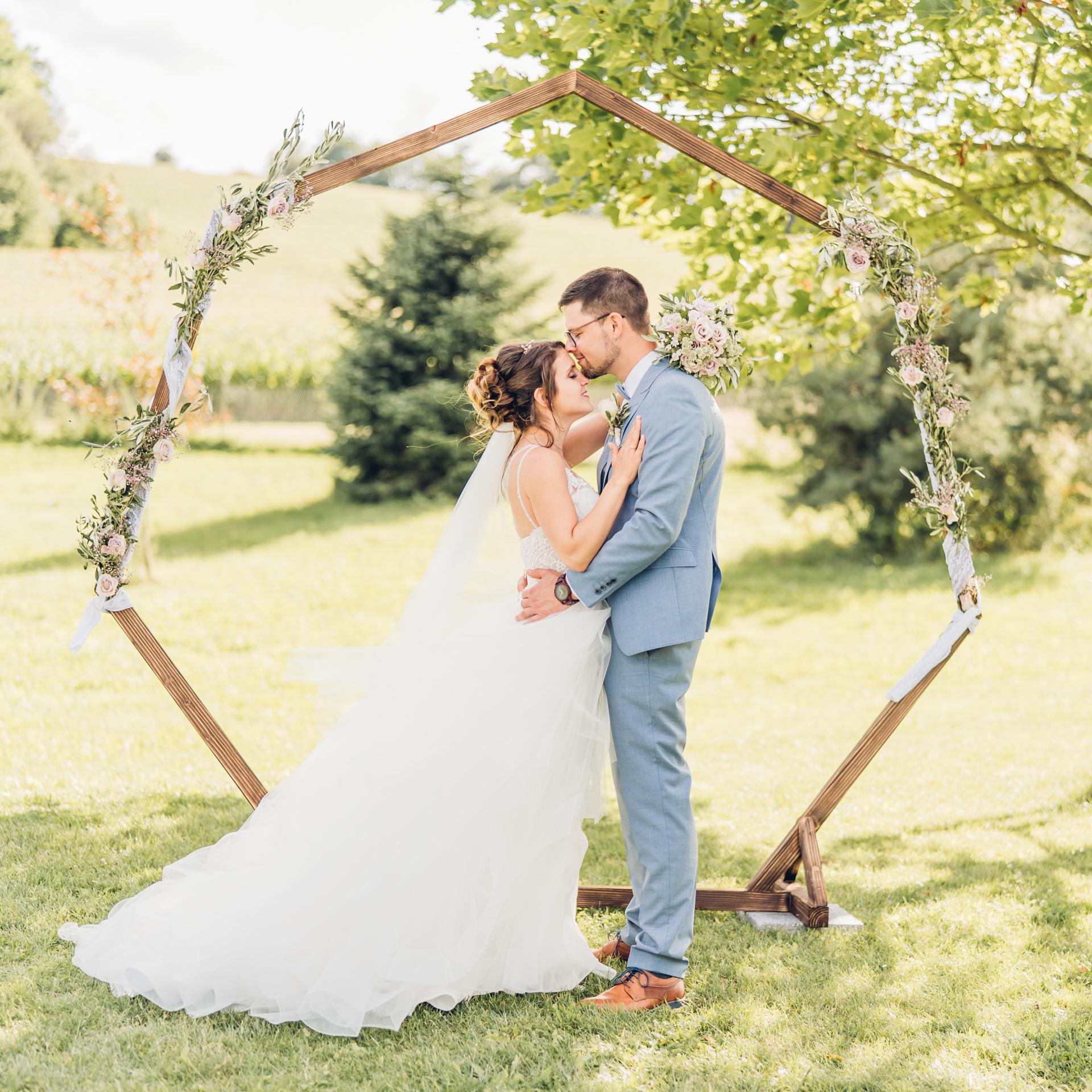 Freie Trauung und Hochzeit auf dem Weingut Höflich