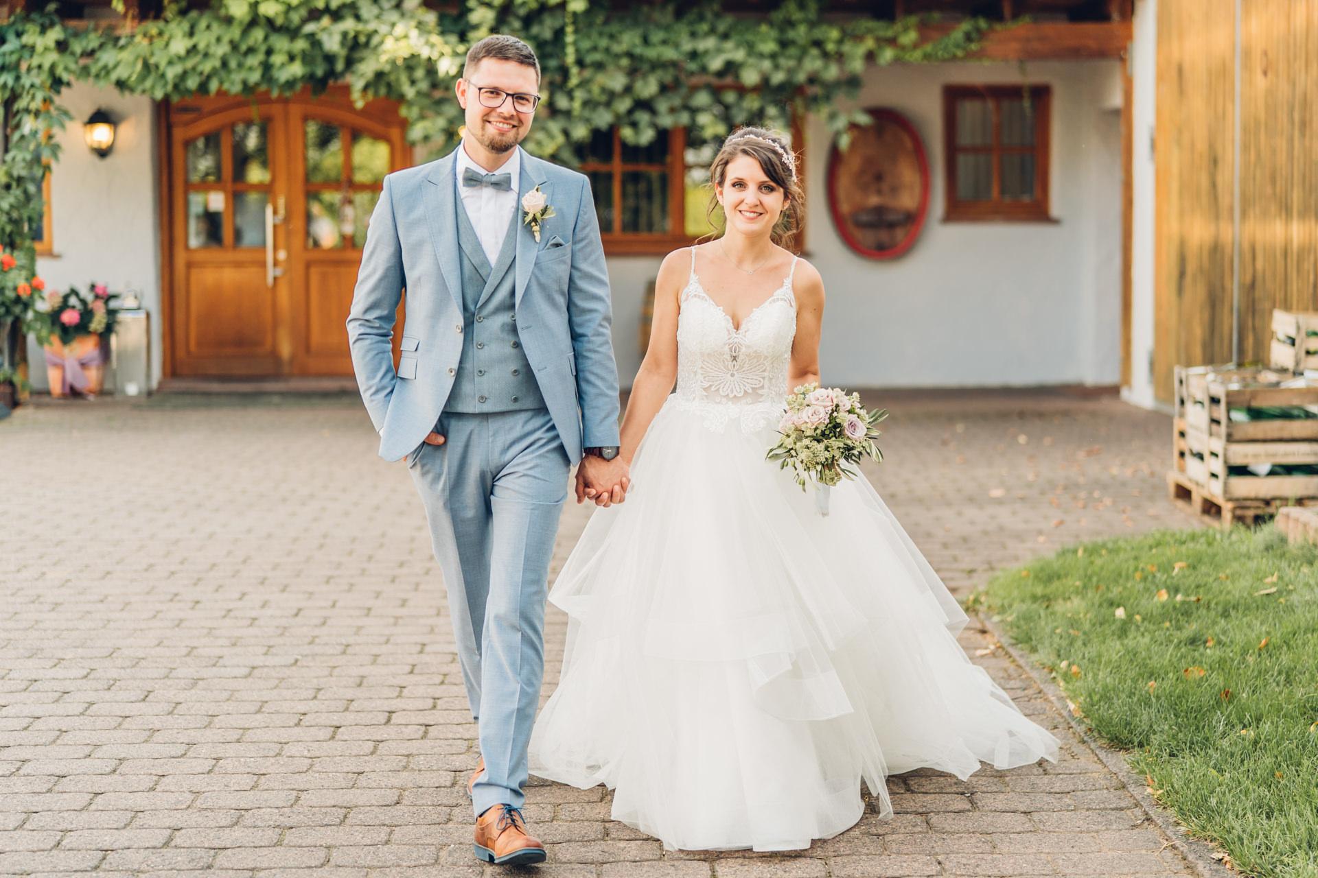 Hochzeit Weingut Höflich