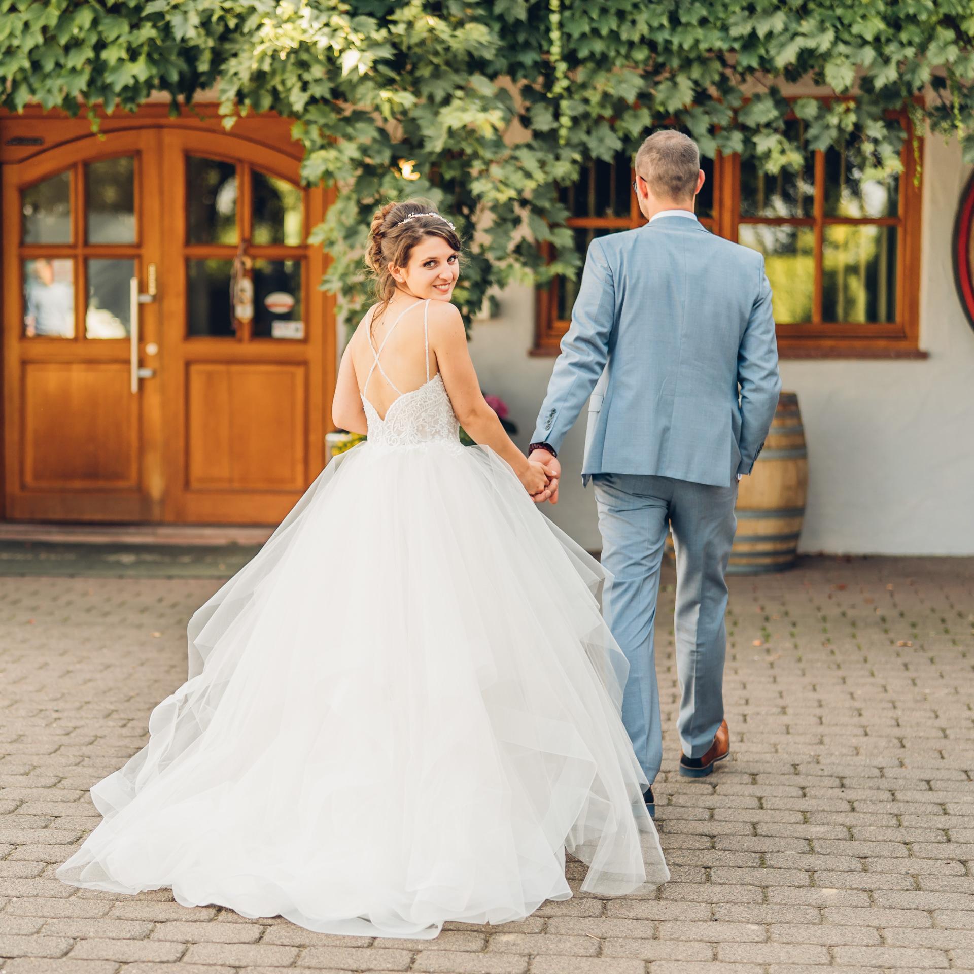 Hochzeit feiern auf dem Weingut Höflich